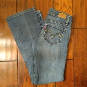 Levi's 524 Too Super Low Jeans. Size 1.